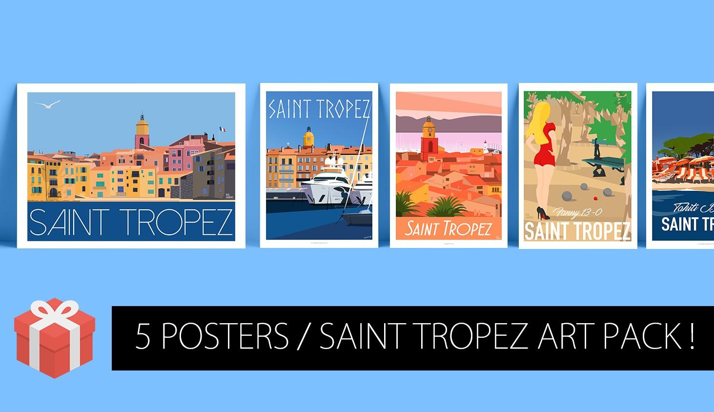 Art Pack Saint Tropez, 2018