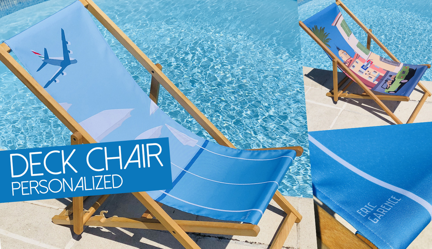 Deck Chair personalized
