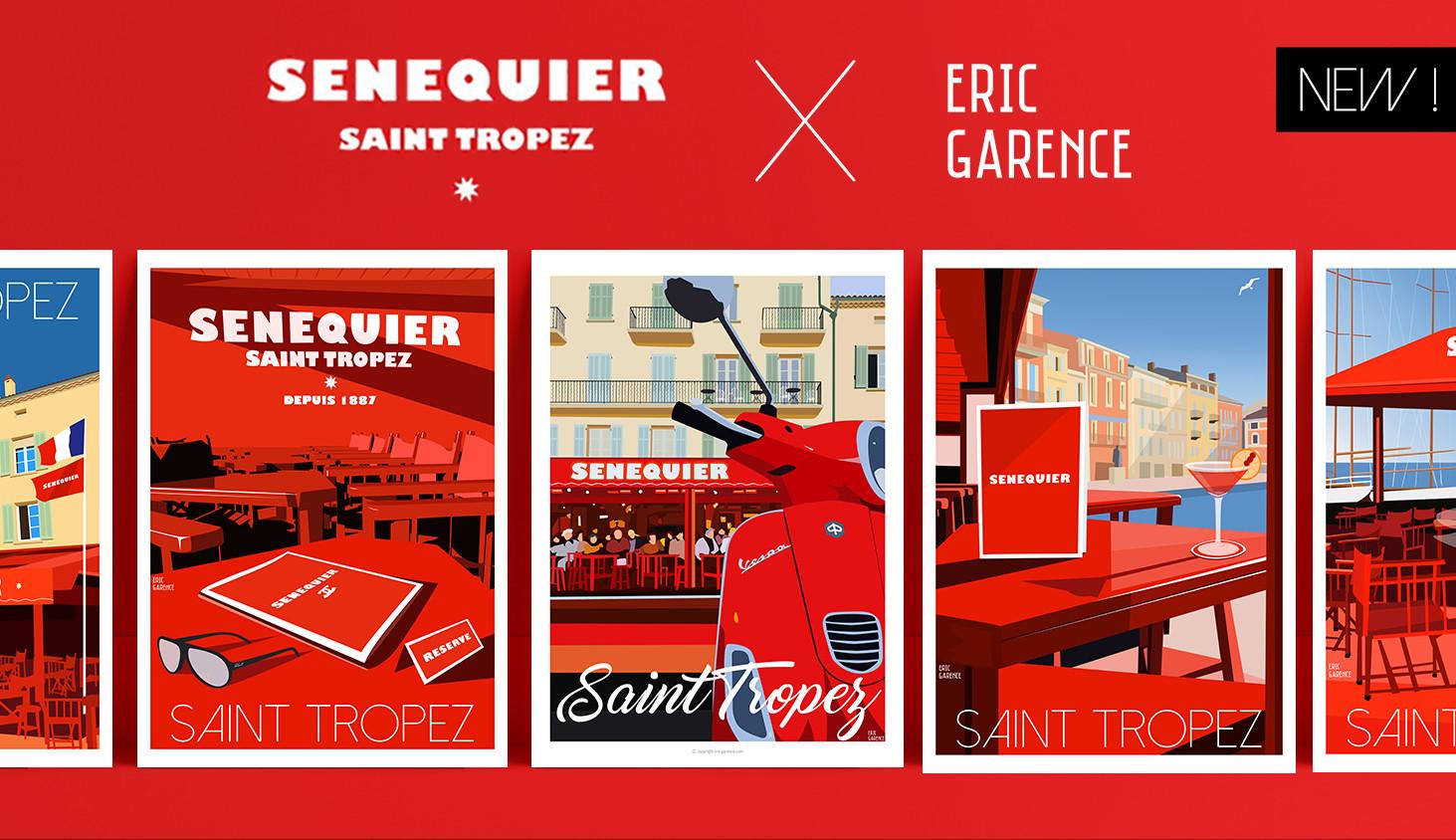 Senequier x Eric Garence