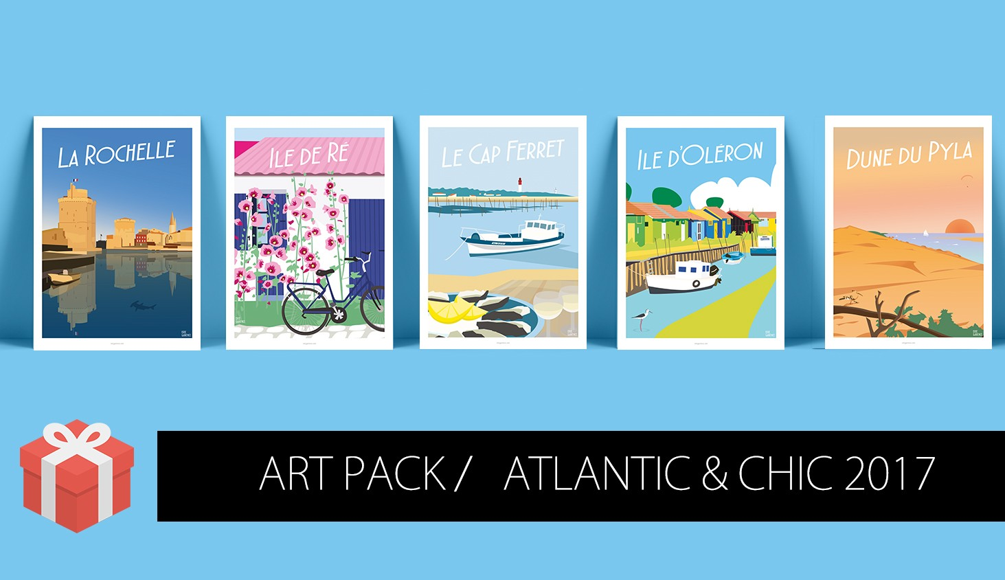Art Pack Côte Atlantique & Chic