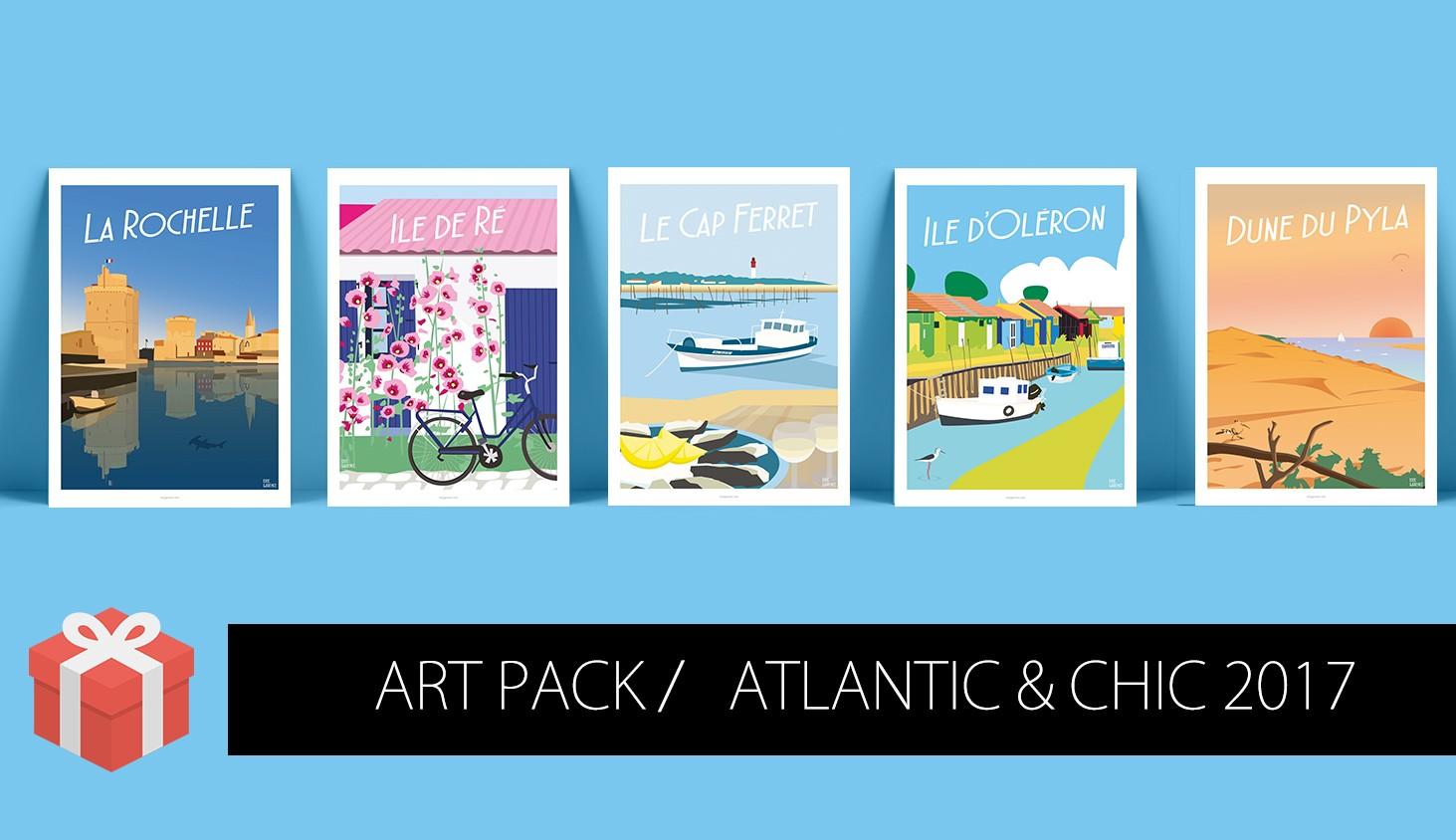 Art Pack Côte Atlantique & Chic