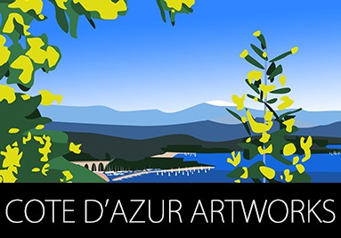 Cote d'azur ARTWORKS